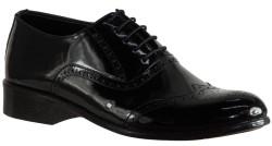ISPARTALILAR - Aksulu 22 Hakiki Deri Siyah Erkek Klasik Ayakkabı (40-44)