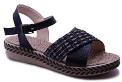 Ayakkabiburada - Ayakkabiburada 0121 Ortopedi Taban Günlük Kadın Sandalet