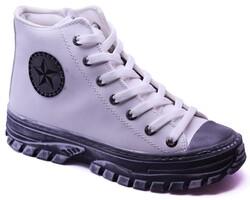 Ayakkabiburada - Ayakkabiburada 032 Rahat Bilekli Günlük Kadın Spor Ayakkabı