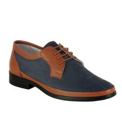 ISPARTALILAR - Ayakkabiburada 16R32 Ortopedi Taban Hakiki Deri Erkek Ayakkabı