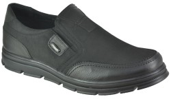 ISPARTALILAR - Ayakkabiburada 1752 Ortopedi Deri Erkek Kışlık Ayakkabı Bot (40-44)