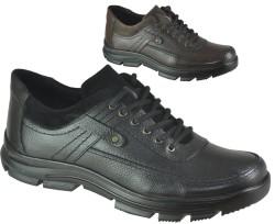 ISPARTALILAR - Ayakkabiburada 1753 Ortopedi Deri Erkek Kışlık Ayakkabı