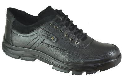 Ayakkabiburada 1753 Ortopedi Deri Erkek Kışlık Ayakkabı Bot (40-44)