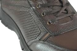 Ayakkabiburada 1754 Hakiki Deri Siyah Erkek Kışlık Ayakkabı Bot (40-44) - Thumbnail