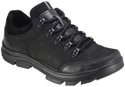 ISPARTALILAR - Ayakkabiburada 1776 Hakiki Deri Siyah Erkek Kışlık Ayakkabı Bot (40-44)