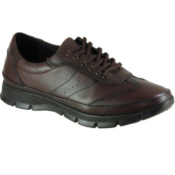 ISPARTALILAR - Ayakkabiburada 1777 Hakiki Deri Kahve Erkek Kışlık Ayakkabı Bot (40-44)