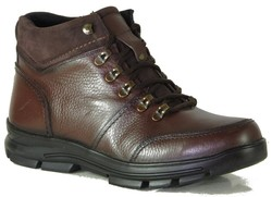 ISPARTALILAR - Ayakkabiburada 1785 Hakiki Deri Kahverengi Erkek Bot Ayakkabı (40-44)