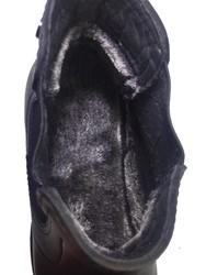 Ayakkabiburada 1795 Ortopedi Hakiki Deri Kürklü Erkek Bot - Thumbnail