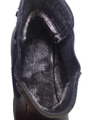 Ayakkabiburada 1795 Ortopedi Hakiki Deri Kürklü Erkek Bot