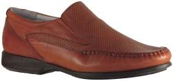 ISPARTALILAR - Ayakkabiburada 184 Hakiki Deri Taba Erkek Günlük Ayakkabı (40-44)