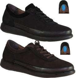 ISPARTALILAR - Ayakkabiburada 1840 Ortopedi Deri Bağlı Erkek Günlük Ayakkabı (40-44)