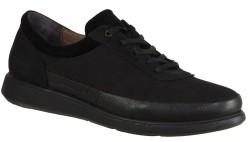 ISPARTALILAR - Ayakkabiburada 1840 Ortopedi Deri Siyah Erkek Günlük Ayakkabı (40-44)