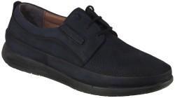 ISPARTALILAR - Ayakkabiburada 1842 Lacivert Deri Ortopedi Günlük Erkek Ayakkabı (40-44)