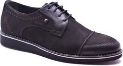 ISPARTALILAR - Ayakkabiburada 2020-18 Hakiki Deri Nubuk Erkek Günlük Ayakkabı