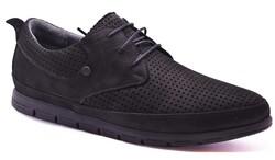 Ayakkabiburada - Ayakkabiburada 2020-47 Ortopedi Hakiki Deri Günlük Erkek Ayakkabı