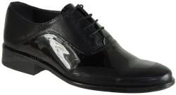ISPARTALILAR - Ayakkabiburada 22 Hakiki Deri Siyah Neolit Erkek Klasik Ayakkabı (40-44)