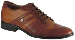 ISPARTALILAR - Ayakkabiburada 26 Hakiki Deri Taba Erkek Klasik Ayakkabı (40-44)