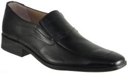 ISPARTALILAR - Ayakkabiburada 27 Hakiki Deri Siyah Erkek Klasik Ayakkabı (40-44)