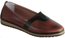 ISPARTALILAR - Ayakkabiburada 274 Ortopedi Deri Taba Bayan Günlük Ayakkabı (36-40)