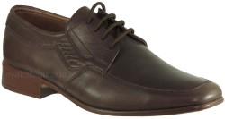 ISPARTALILAR - Ayakkabiburada 34 Hakiki Deri Kahve Erkek Klasik Ayakkabı (40-44)