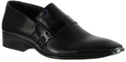 ISPARTALILAR - Ayakkabiburada 37 Hakiki Deri Siyah Erkek Klasik Ayakkabı (40-44)