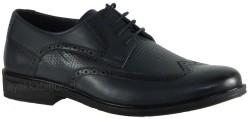 ISPARTALILAR - Ayakkabiburada 97 Hakiki Deri Lacivert Erkek Klasik Ayakkabı (40-44)