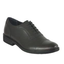 BANNER - Banner 1128 Erkek RuganDeri Eva Taban Siyah Erkek Klasik Ayakkabı