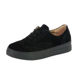 ISPARTALILAR - Benim 018 Ortopedi Taban Bayan Günlük Siyah Ayakkabı
