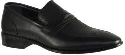 ISPARTALILAR - Bertocci 37 Hakiki Deri Siyah Erkek Klasik Ayakkabı (40-44)