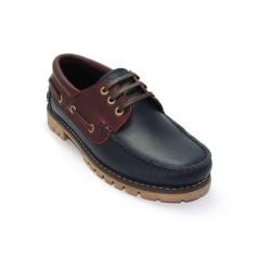 ISPARTALILAR - BıgTorres Erkek Kauçuk Taban Günlük Kaymaz Taban Deri Ayakkabı