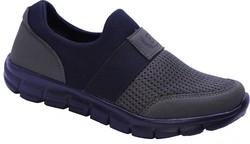Wanderfull - Black Sea 502 Ortopedi Bağcıksız Hafif Günlük Unisex Spor Ayakkabı