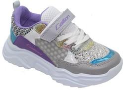 Callion 054 Ortopedi Taban Gri Kız Spor Ayakkabı (30-35) - Thumbnail