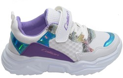 Callion 055 Ortopedi Taban Beyaz Kız Spor Ayakkabı (30-35) - Thumbnail