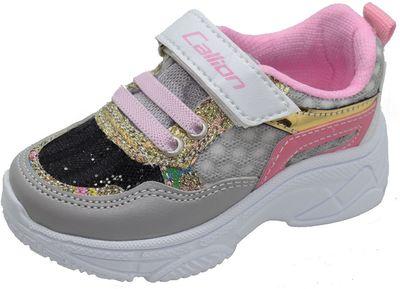 Callion 057 Ortopedi Ayak İç Destekli Kız Bebe Spor Ayakkabı (21-25)