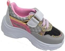 Callion 057 Ortopedi Ayak İç Destekli Kız Bebe Spor Ayakkabı (21-25) - Thumbnail