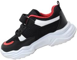 Callion 075 Ortopedi Taban Siyah Erkek Çocuk Spor Ayakkabı (26-35) - Thumbnail