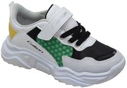 Callion 077 Ortopedi Taban Beyaz Erkek Çocuk Spor Ayakkabı (26-35) - Thumbnail