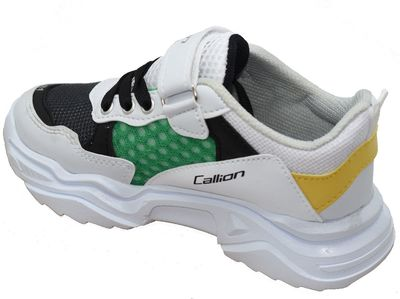 Callion 077 Ortopedi Taban Beyaz Erkek Çocuk Spor Ayakkabı (26-35)