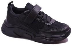 Callion - Callion 083 Ortopedi Taban Siyah Çocuk Spor Ayakkabı