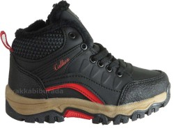ISPARTALILAR - Callion 21 Rahat Taban Siyah Erkek Çocuk Bot Ayakkabı (26-30)