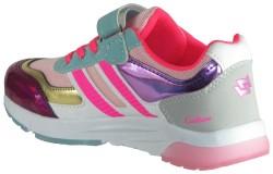 Callion Rahat Çocuk Pembe Kız Spor Ayakkabı - Thumbnail