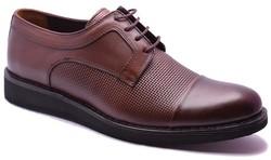 ISPARTALILAR - Care 3812 Hakiki Deri Hazır Eva Taban Erkek Günlük Ayakkabı