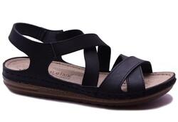 Carlaverde - Carlaverde 140741 Ortopedi Kadın Sandalet Ayakkabı
