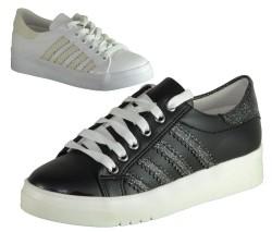 Endless - Endless Ortopedi Siyah Günlük Bayan Spor Ayakkabı (36-40)