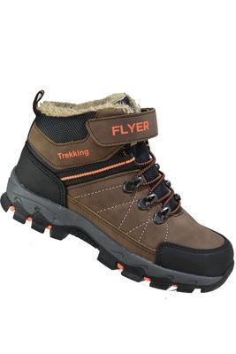 FLYER 309 Ortopedi Kürklü Erkek Çocuk Bot Ayakkabı (26-35)