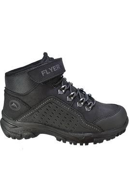 FLYER 312 Ortopedi Kürklü Erkek SİYAH Çocuk Bot Ayakkabı (31-35)