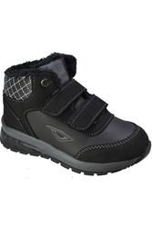 ISPARTALILAR - FLYER 509 Ortopedi Kürklü Erkek Işıklı Çocuk Bot Ayakkabı (26-30)