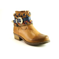 Guja - Guja 1007 Bayan Hafif Topuklu Optoprdi Fermuarlı Bot Ayakkabı
