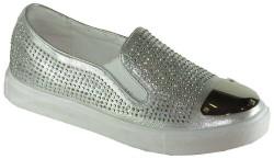 Guja - Guja 17Y125 Ortopedi Gümüş Günlük Bayan Spor Ayakkabı