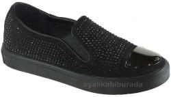 Guja - Guja 17Y125 Ortopedi Siyah Günlük Bayan Spor Ayakkabı